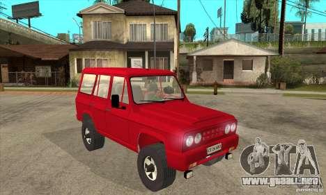 ARO 244 para GTA San Andreas vista hacia atrás