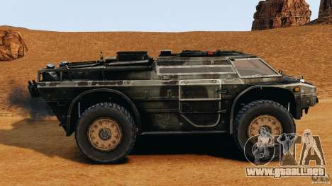 Armored Security Vehicle para GTA 4 left