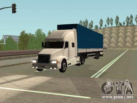 Volvo VNL para GTA San Andreas left