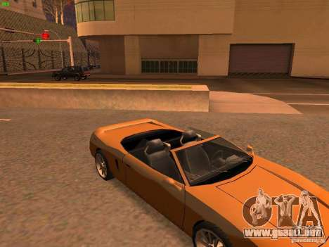 Infernus Revolution para visión interna GTA San Andreas
