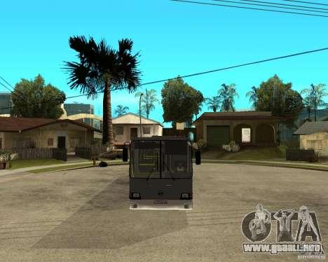LIAZ 5256.25 Restyling para GTA San Andreas vista hacia atrás