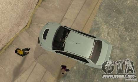Mitsubishi Lancer Evolution IX para visión interna GTA San Andreas