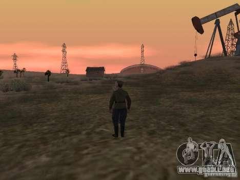 Oficial soviético BOB para GTA San Andreas quinta pantalla