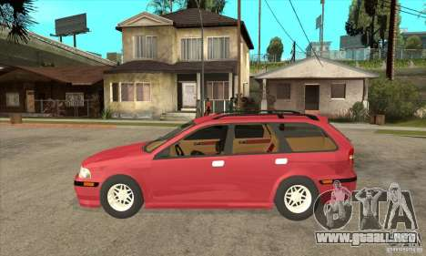 Volvo V40 Touring para GTA San Andreas left