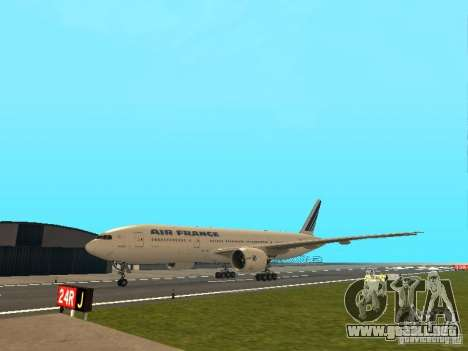 Boeing 777-200 Air France para GTA San Andreas