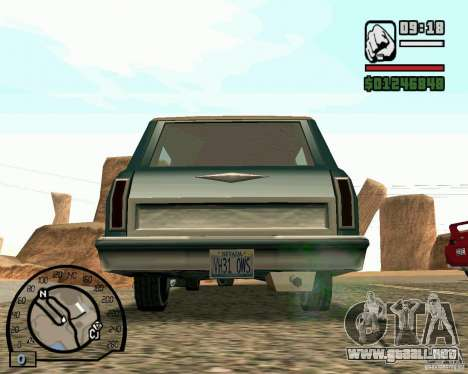 IV High Quality Lights Mod v2.2 para GTA San Andreas sexta pantalla