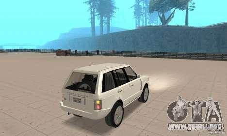 Range Rover Vogue 2003 para GTA San Andreas left