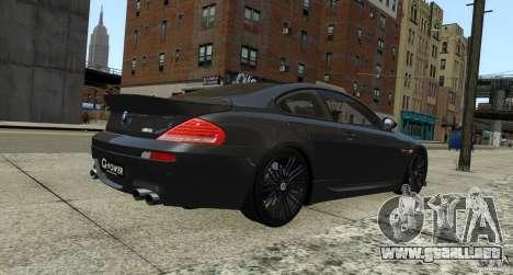 BMW M6 Hurricane RR para GTA 4 visión correcta