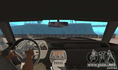 Dodge Challenger 2007 para GTA San Andreas vista hacia atrás