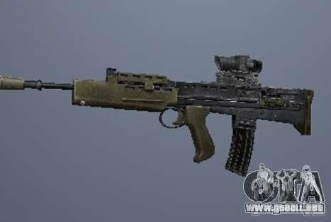 Un conjunto de armas de acosador V3 para GTA San Andreas sexta pantalla