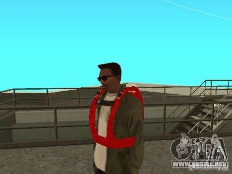 Paracaídas del TBOGT para GTA San Andreas segunda pantalla