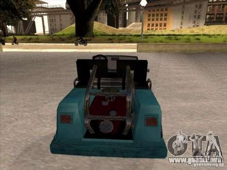 Small Cabrio para la visión correcta GTA San Andreas
