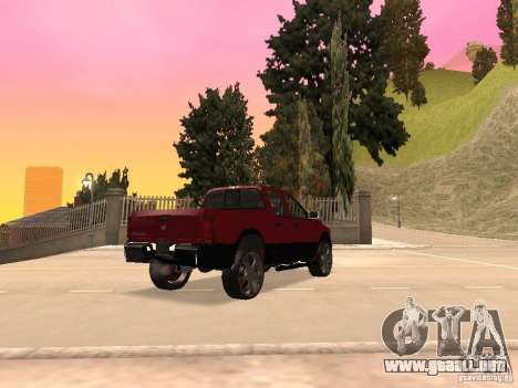Dodge Ram 2010 para GTA San Andreas left