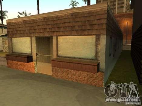 La casa modificada en la playa de Santa Maria 2. para GTA San Andreas segunda pantalla