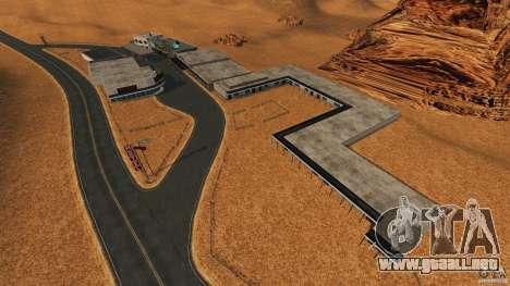 Red Dead Desert 2012 para GTA 4 quinta pantalla