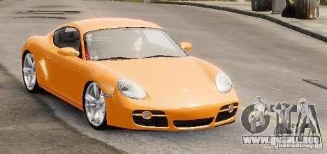 Porsche Cayman para GTA 4 visión correcta