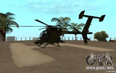 AH 6 para la visión correcta GTA San Andreas