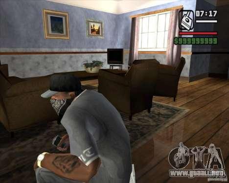 Detector de l. a. t. s. k. e. R # 3 para GTA San Andreas segunda pantalla