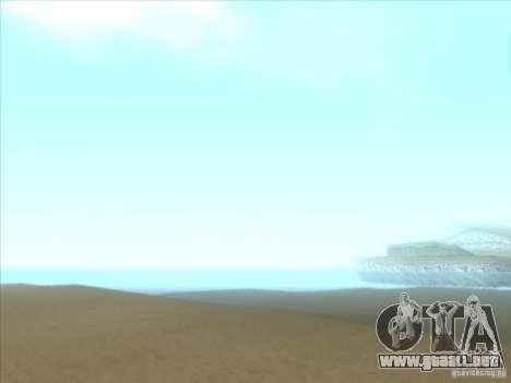 ENBSeries para PC media y débil para GTA San Andreas sexta pantalla