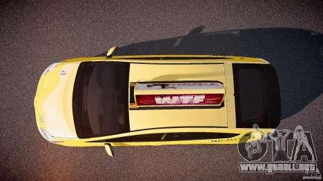 Toyota Prius NYC Taxi 2011 para GTA 4 visión correcta