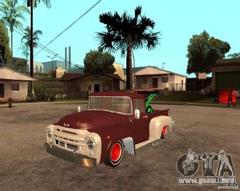 ZIL 130 Tempe ardiente Final para GTA San Andreas