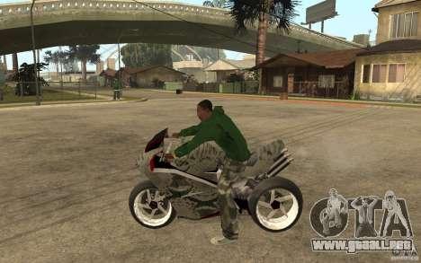 Streetfighter NRG 500 Snakehead v2 para GTA San Andreas left