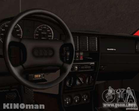 Audi 90 Quattro para la visión correcta GTA San Andreas