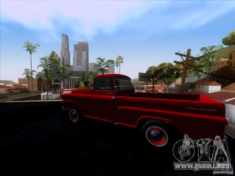 Chevrolet Apache GM 1959 para GTA San Andreas left