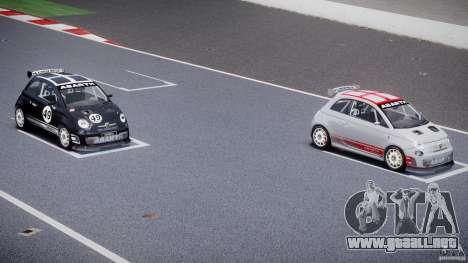 Fiat 500 Abarth para GTA 4 ruedas