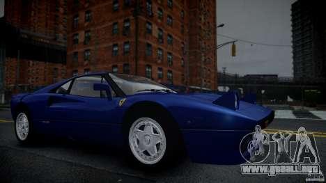 Ferrari 288 GTO EPM para GTA 4 vista lateral