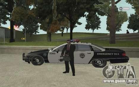 Animación de GTA IV v 2.0 para GTA San Andreas octavo de pantalla