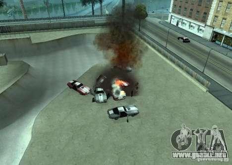 Nuevos efectos de explosiones para GTA San Andreas segunda pantalla
