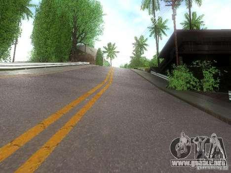 Modification Of The Road para GTA San Andreas tercera pantalla