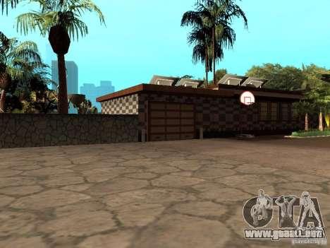 Reteksturirovannyj casa CJeâ V1 para GTA San Andreas segunda pantalla