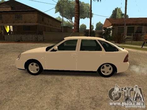 LADA Priora 2172 para GTA San Andreas left
