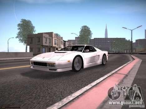 LiberrtySun Graphics ENB v2.0 para GTA San Andreas octavo de pantalla