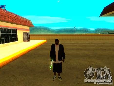 Nuevo Ballas gruesa para GTA San Andreas quinta pantalla