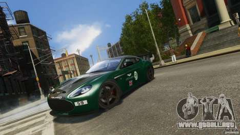 Aston Martin V12 Zagato 2012 para GTA 4