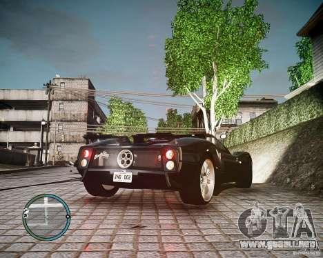 Pagani Zonda C12S Roadster para GTA 4 left