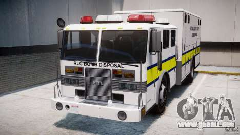 Royal Logistic Corps Bomb Disposal Truck para GTA 4