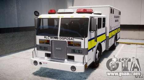 Royal Logistic Corps Bomb Disposal Truck para GTA 4