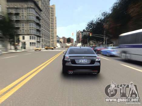 Pontiac G8 GXP para GTA 4 vista interior