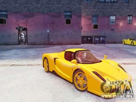 Ferrari Enzo 2002 para GTA 4 vista lateral