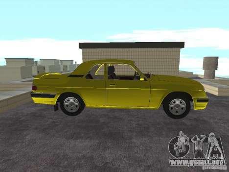 GAZ 31105 para GTA San Andreas vista posterior izquierda