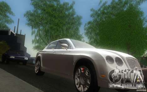 Bentley Continental Flying Spur para GTA San Andreas vista hacia atrás