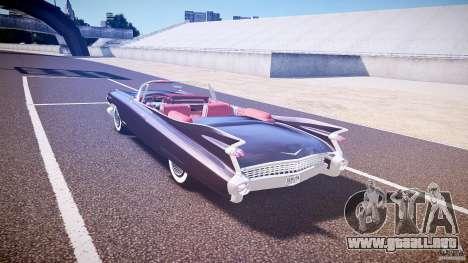 Cadillac Eldorado 1959 interior red para GTA 4 visión correcta