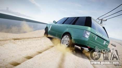 Range Rover Vogue para GTA motor 4