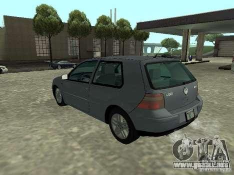 Volkswagen Golf IV para GTA San Andreas left