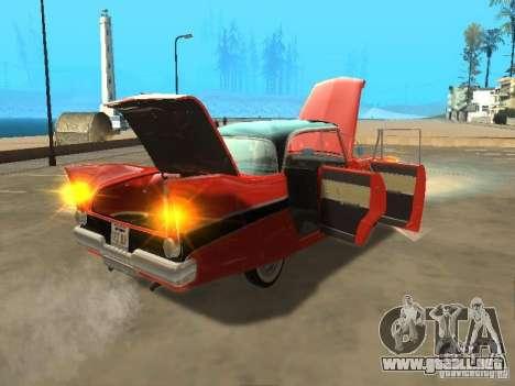 Plymouth Belvedere Sport sedan para la visión correcta GTA San Andreas