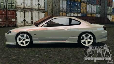 Nissan Silvia S15 Drift para GTA 4 left